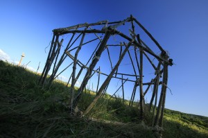 La structure de la hutte bantoue